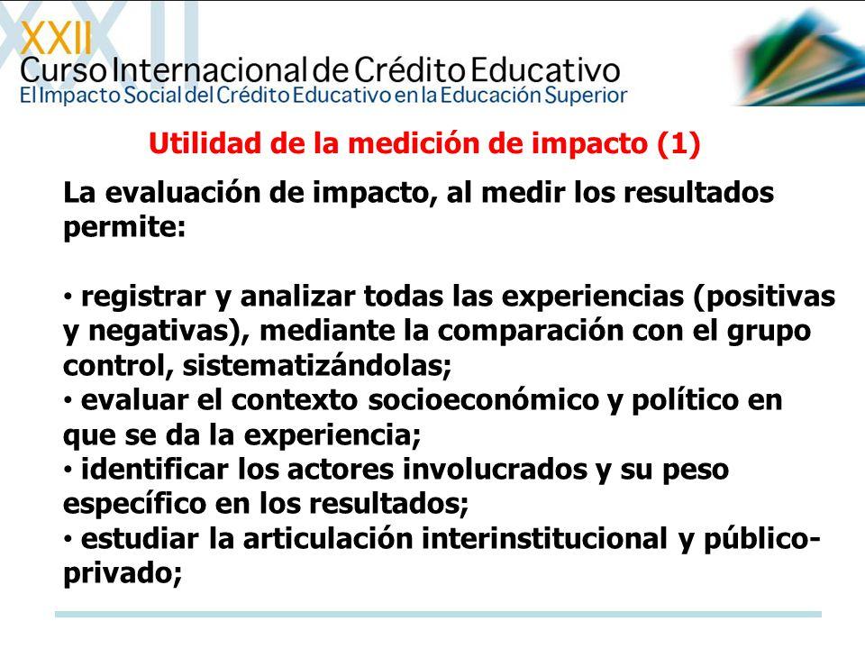 Utilidad de la medición de impacto (1)