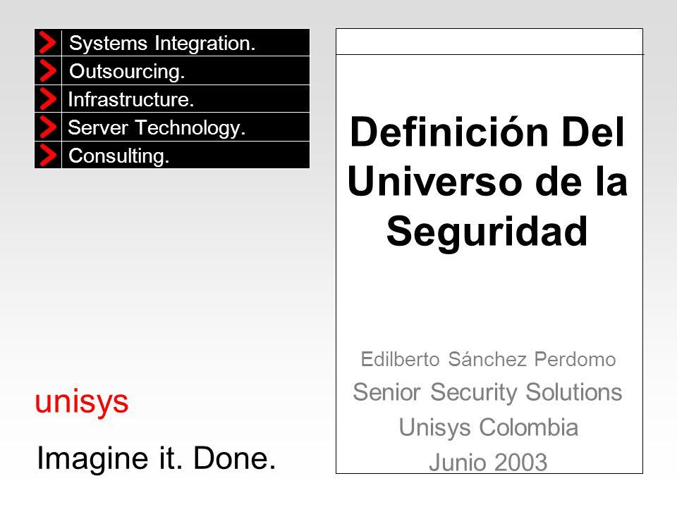 Definición Del Universo de la Seguridad