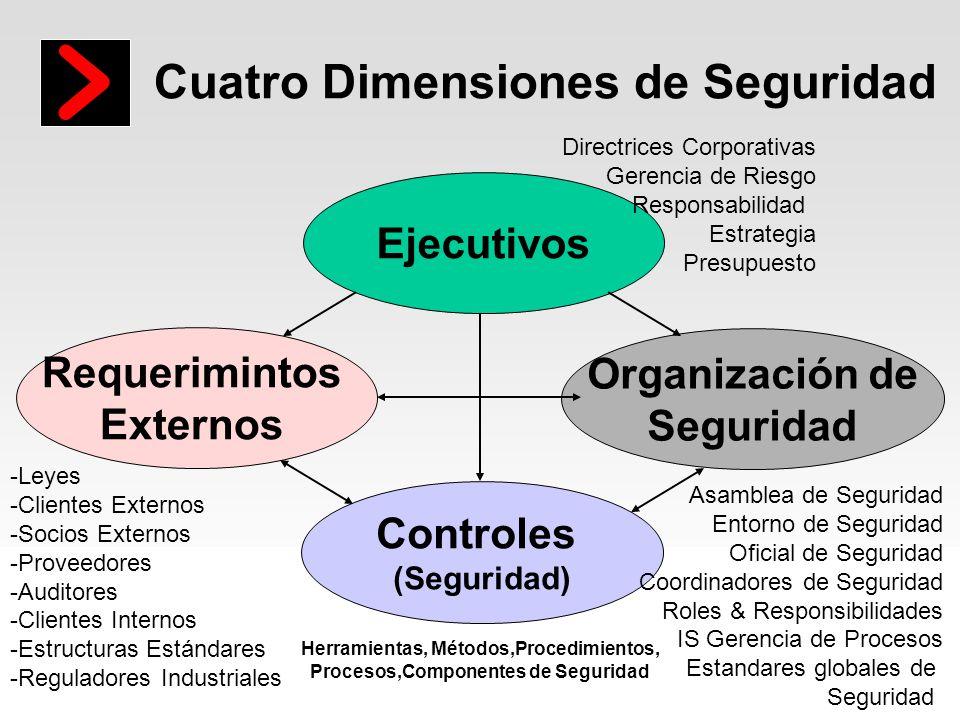 Cuatro Dimensiones de Seguridad