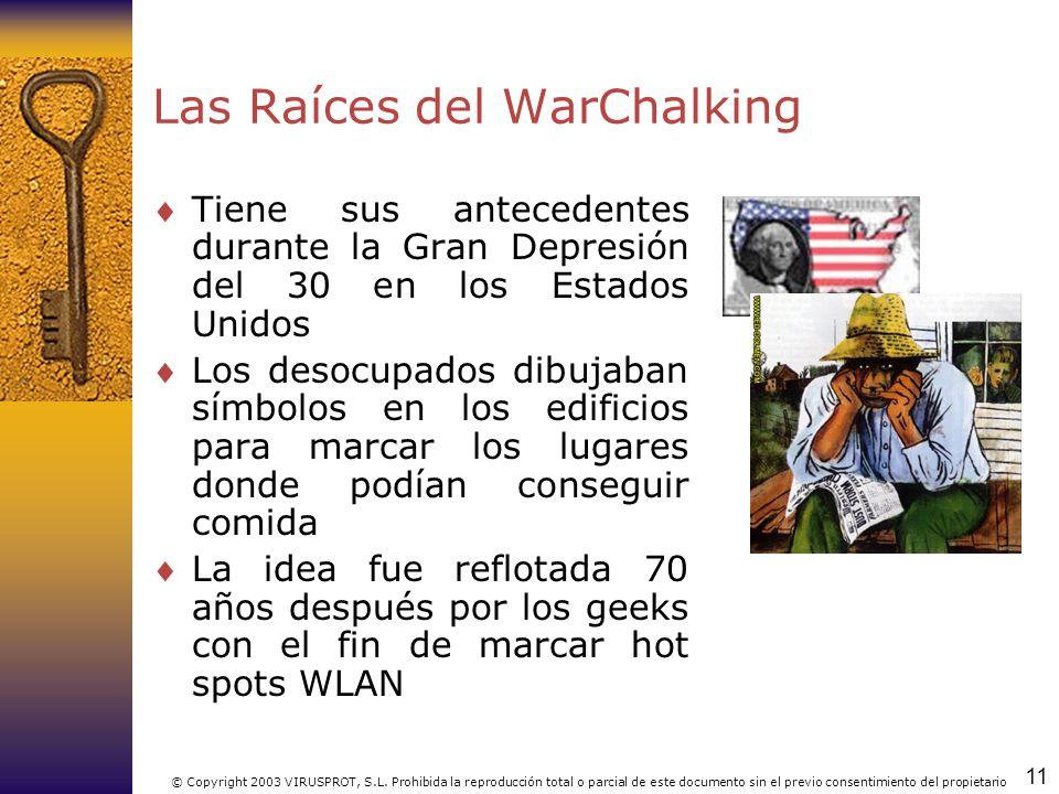 Las Raíces del WarChalking