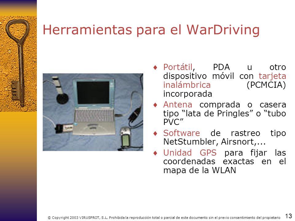 Herramientas para el WarDriving