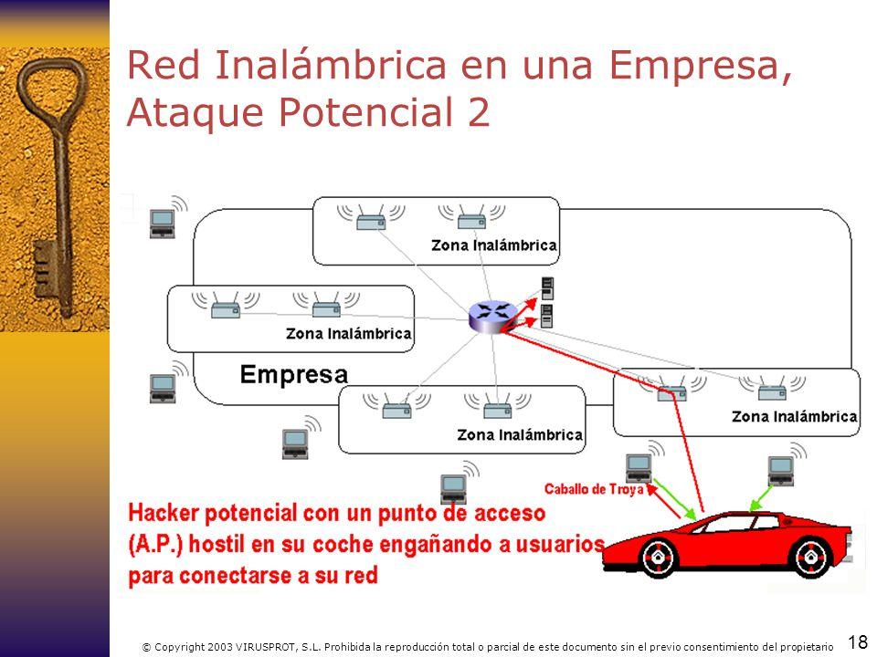 Red Inalámbrica en una Empresa, Ataque Potencial 2