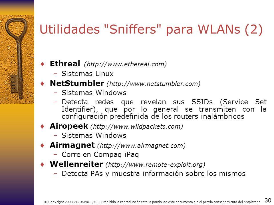 Utilidades Sniffers para WLANs (2)