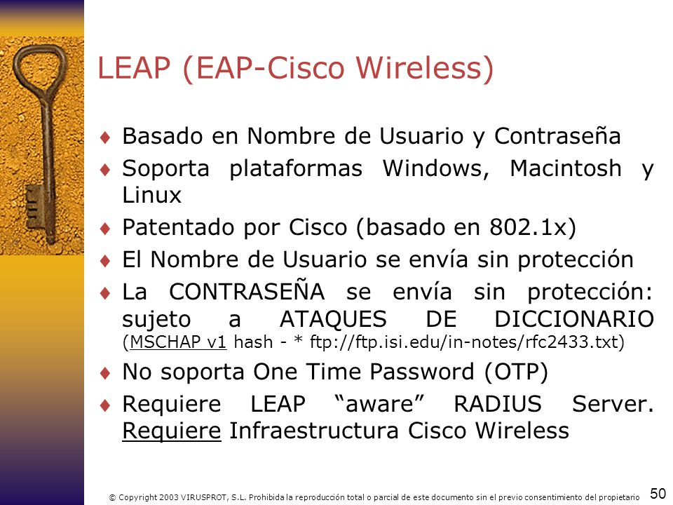 LEAP (EAP-Cisco Wireless)
