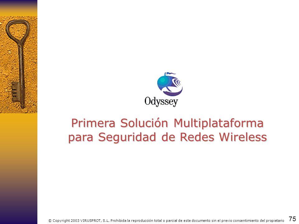 Primera Solución Multiplataforma para Seguridad de Redes Wireless