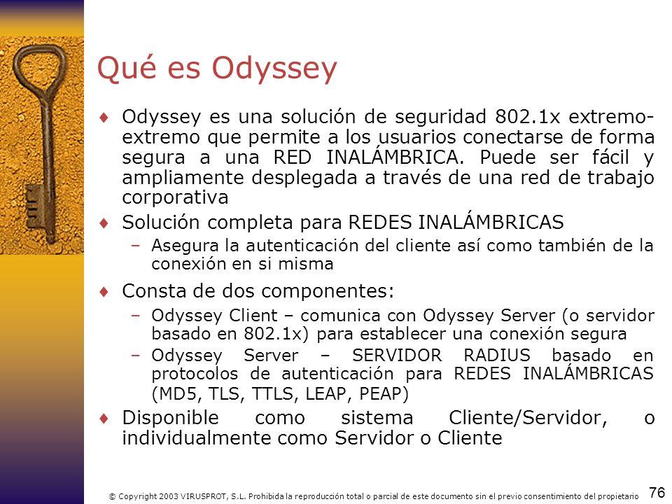Qué es Odyssey