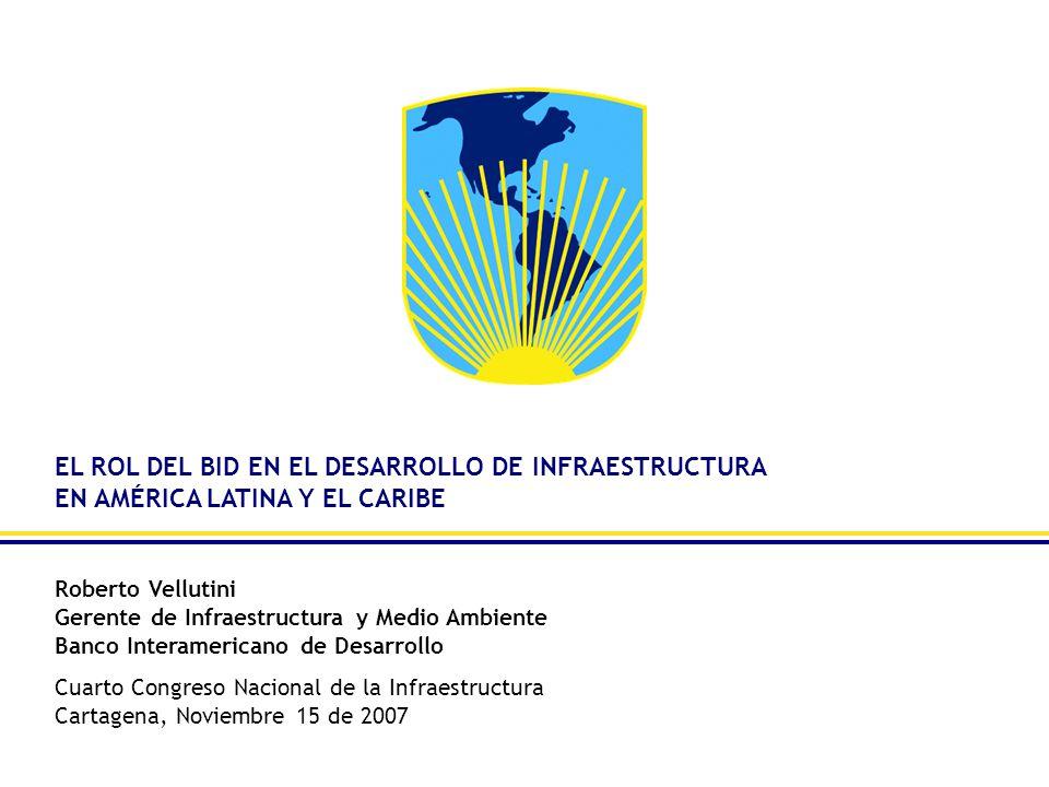 EL ROL DEL BID EN EL DESARROLLO DE INFRAESTRUCTURA EN AMÉRICA LATINA Y EL CARIBE