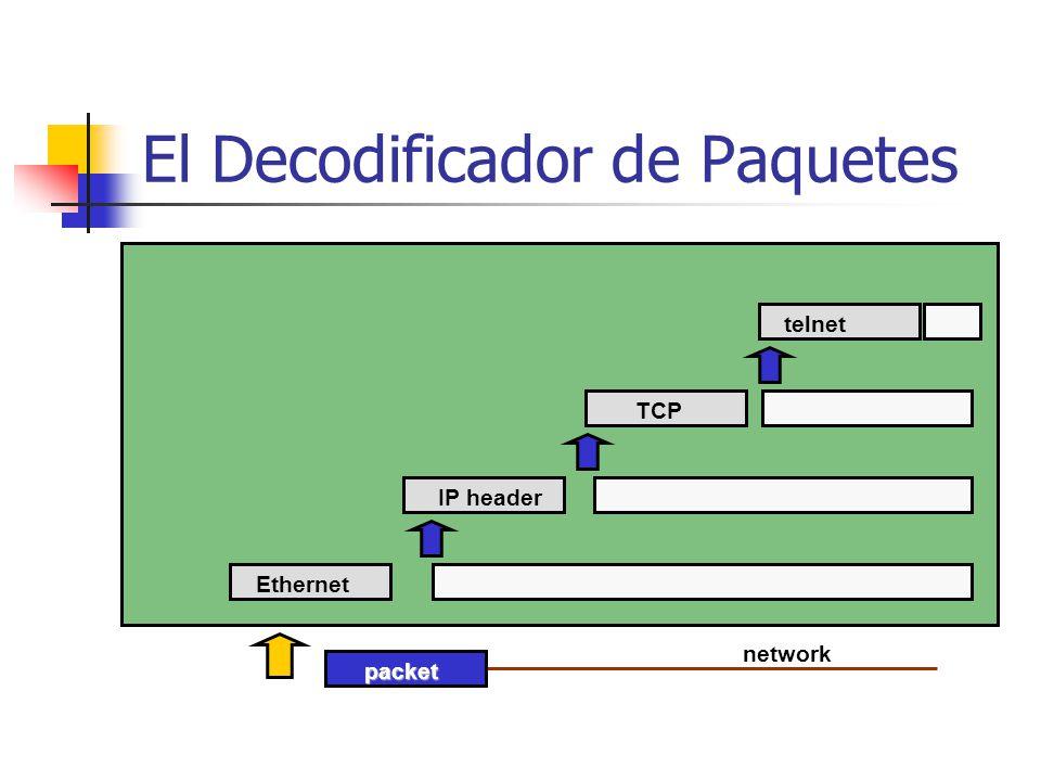 El Decodificador de Paquetes