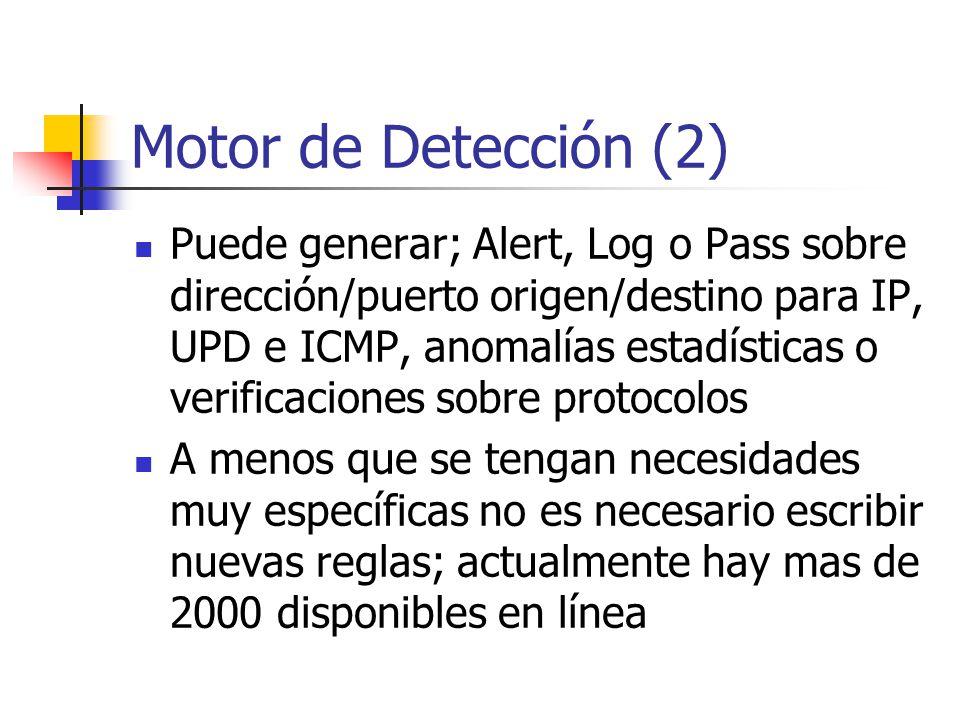 Motor de Detección (2)