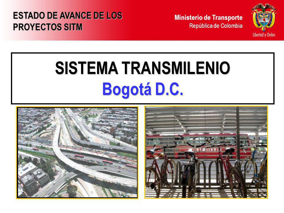 SISTEMA TRANSMILENIO Bogotá D.C.