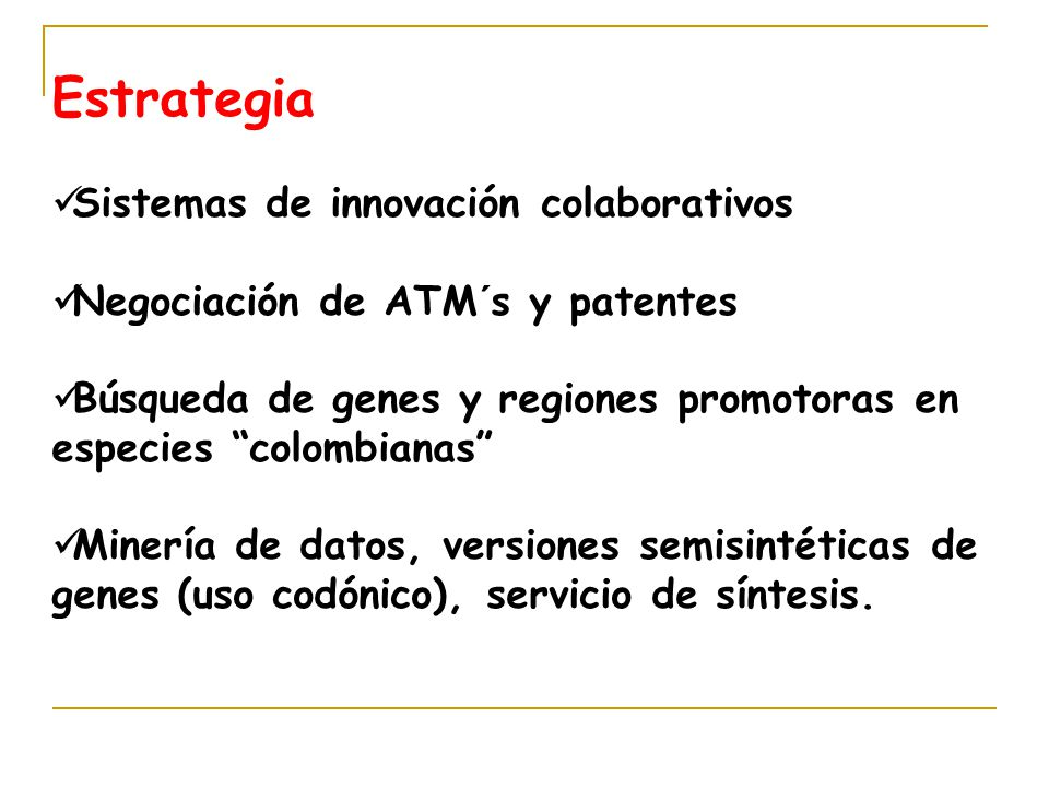 Estrategia Sistemas de innovación colaborativos