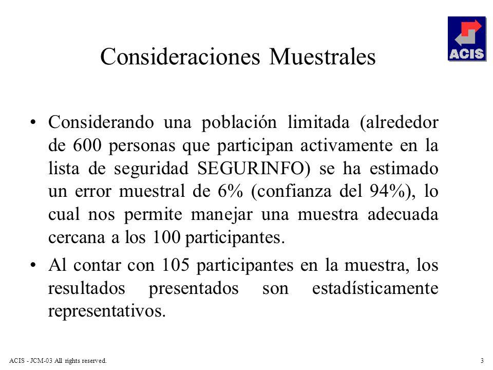 Consideraciones Muestrales
