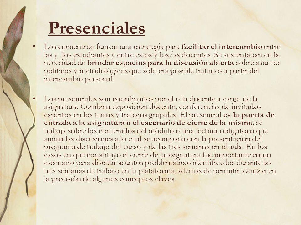 Presenciales