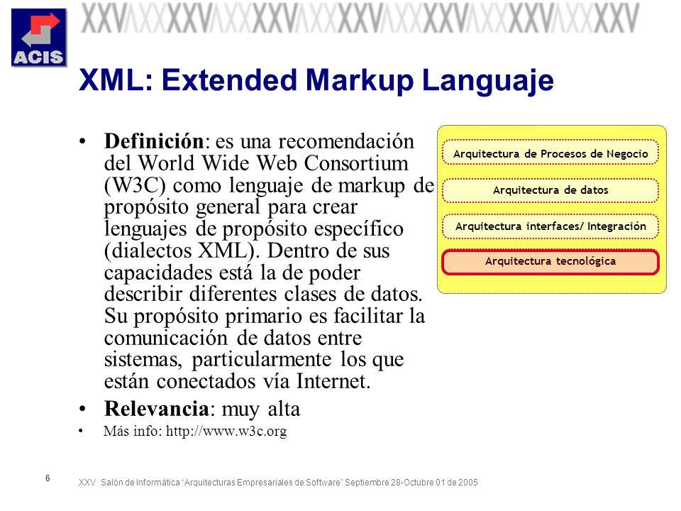 XML: Extended Markup Languaje