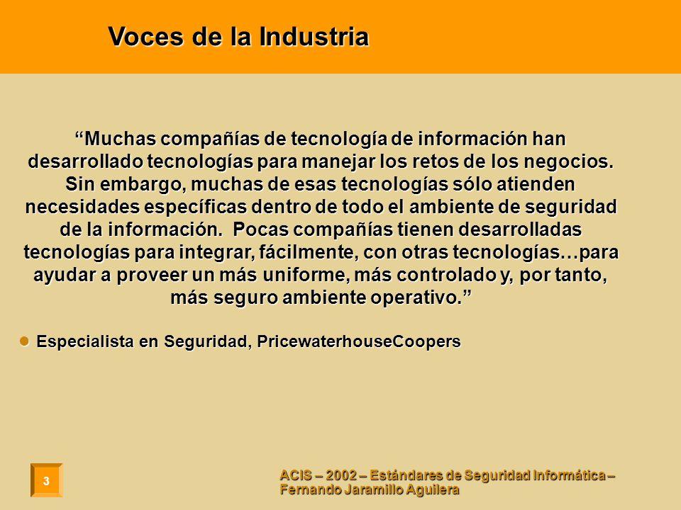 Voces de la Industria