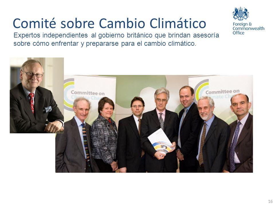 Comité sobre Cambio Climático