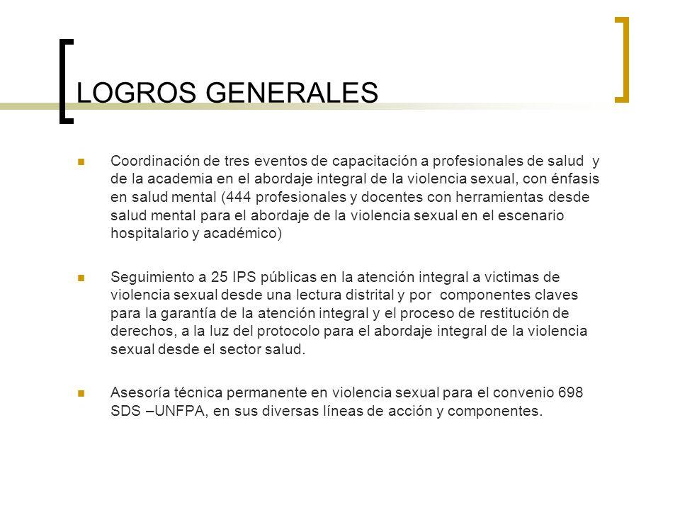 LOGROS GENERALES
