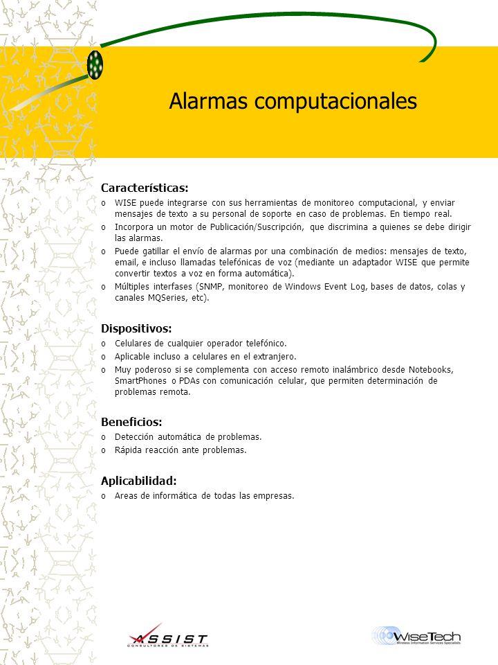 Alarmas computacionales