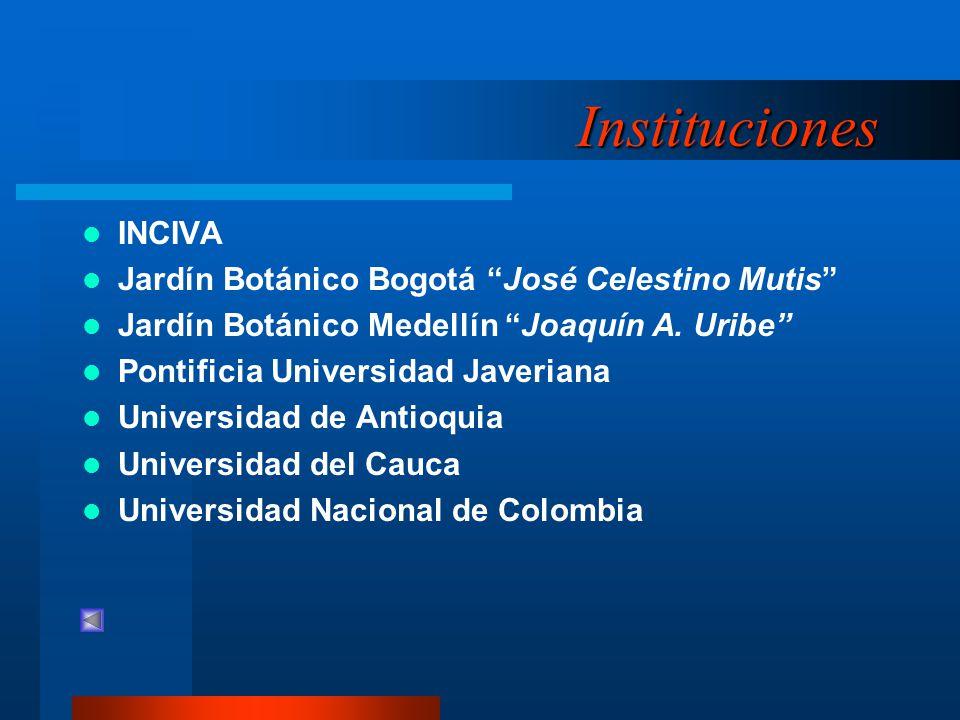 Instituciones INCIVA Jardín Botánico Bogotá José Celestino Mutis