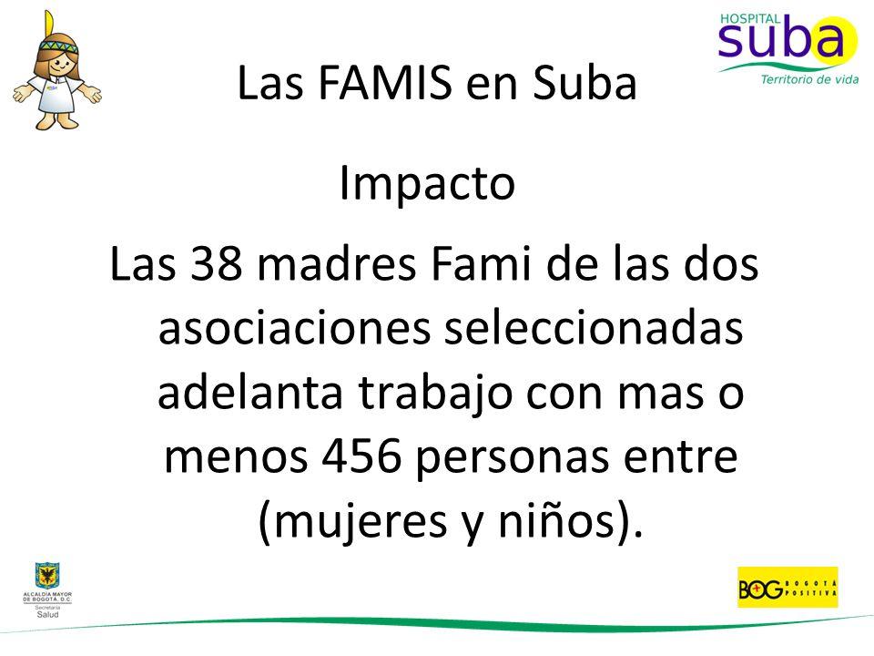 Las FAMIS en Suba Impacto.