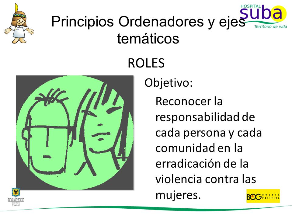 Principios Ordenadores y ejes temáticos