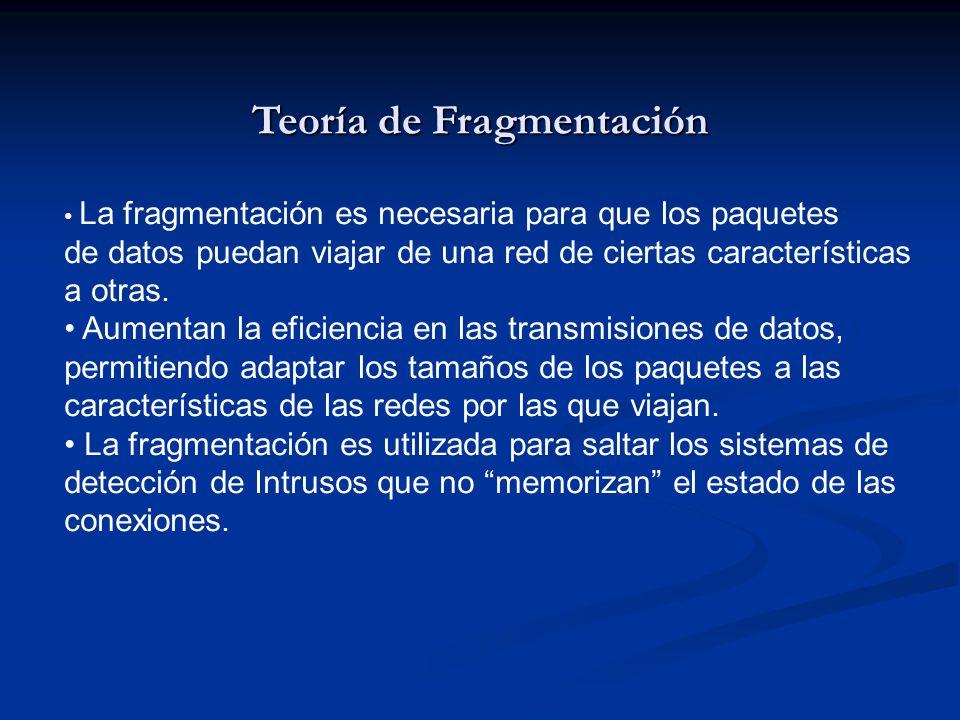 Teoría de Fragmentación