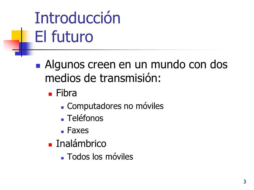 Introducción El futuro