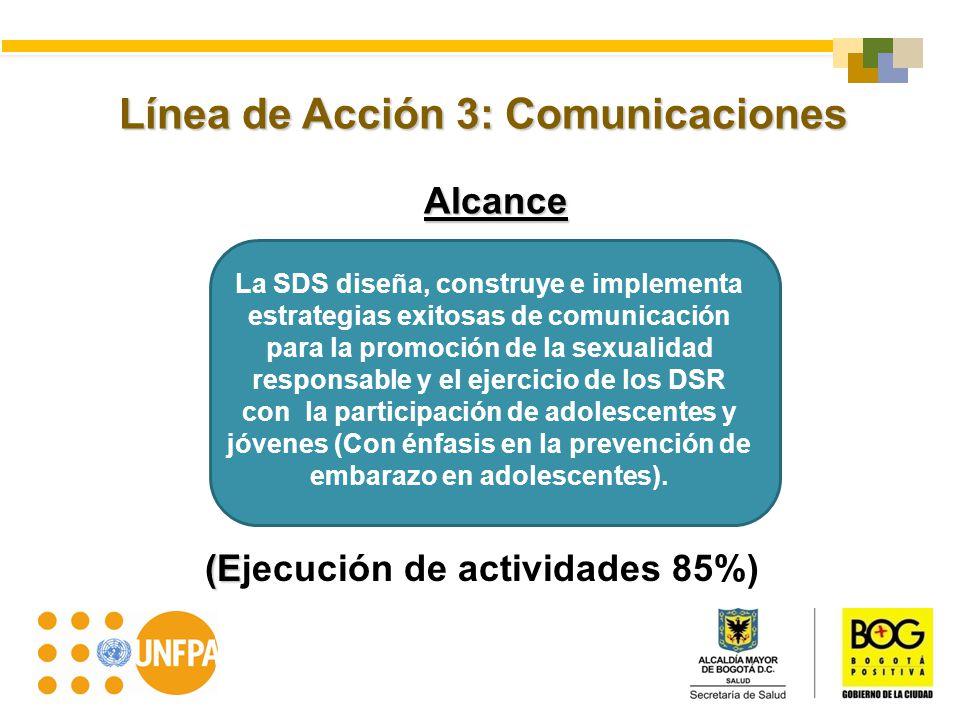 Línea de Acción 3: Comunicaciones