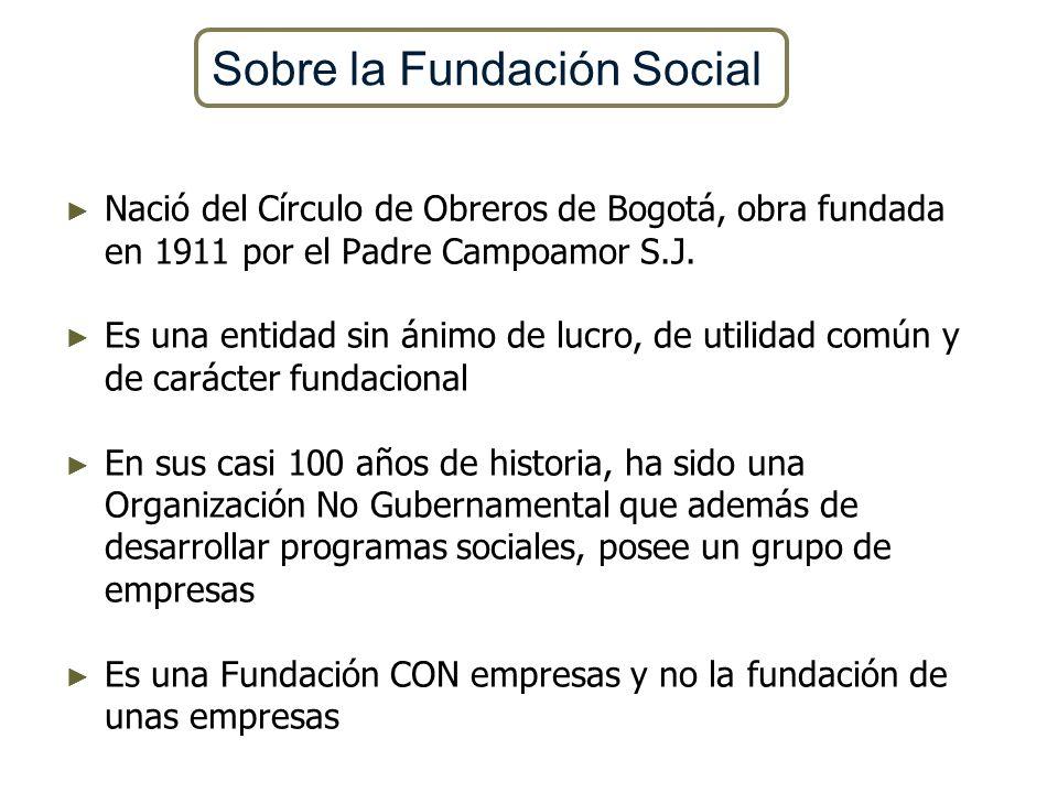 Sobre la Fundación Social