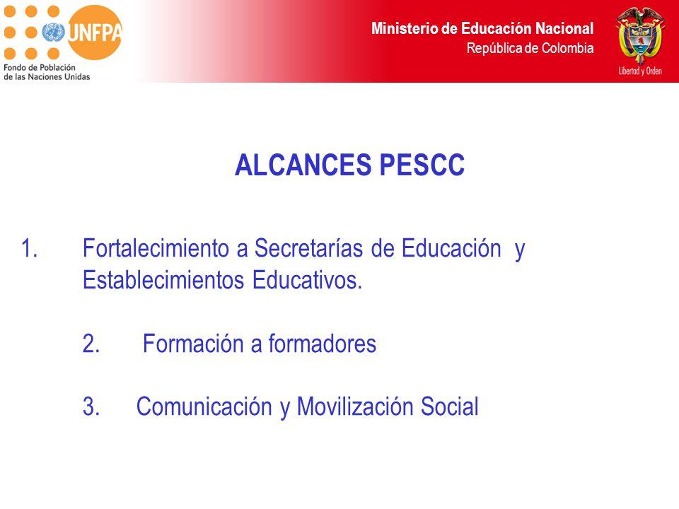ALCANCES PESCC
