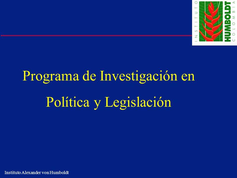 Programa de Investigación en Política y Legislación