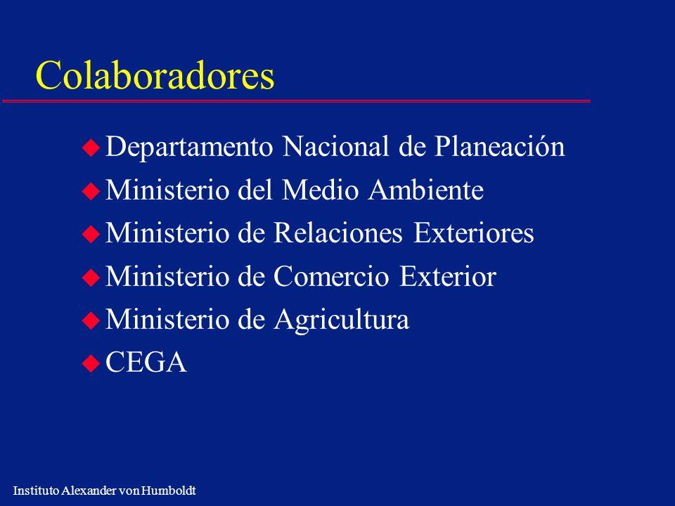 Colaboradores Departamento Nacional de Planeación
