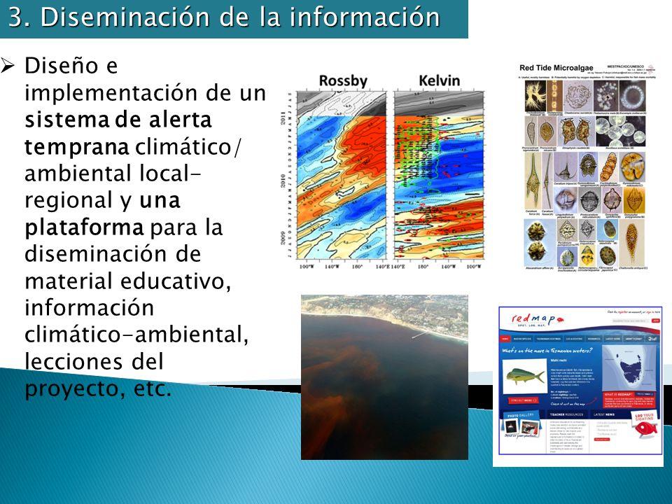 3. Diseminación de la información