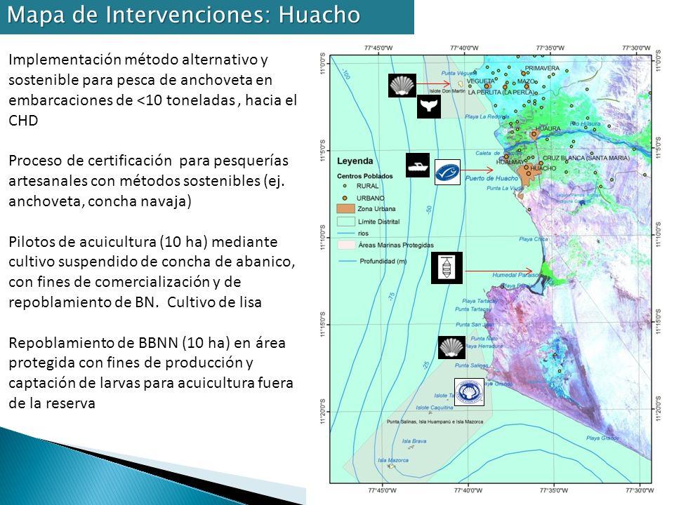 Mapa de Intervenciones: Huacho