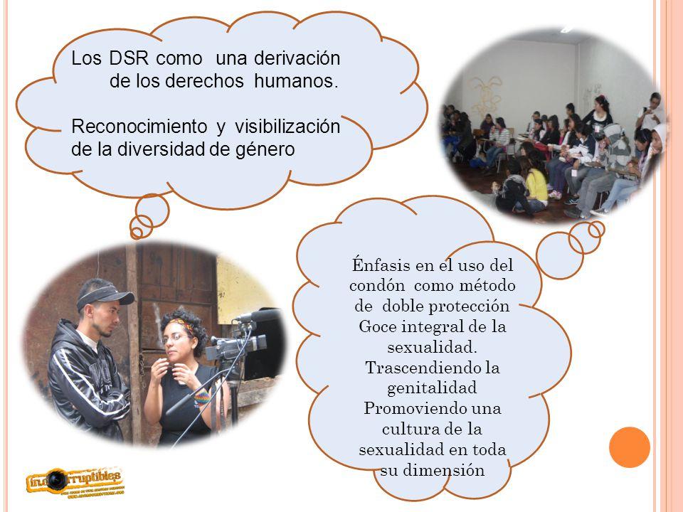 Los DSR como una derivación de los derechos humanos.