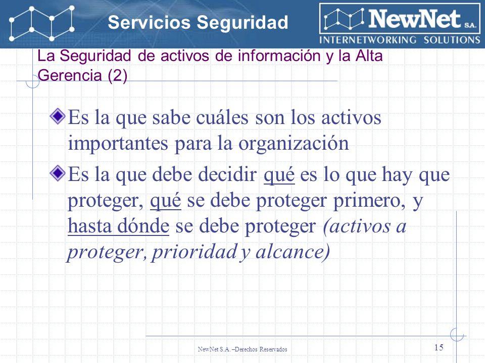 La Seguridad de activos de información y la Alta Gerencia (2)