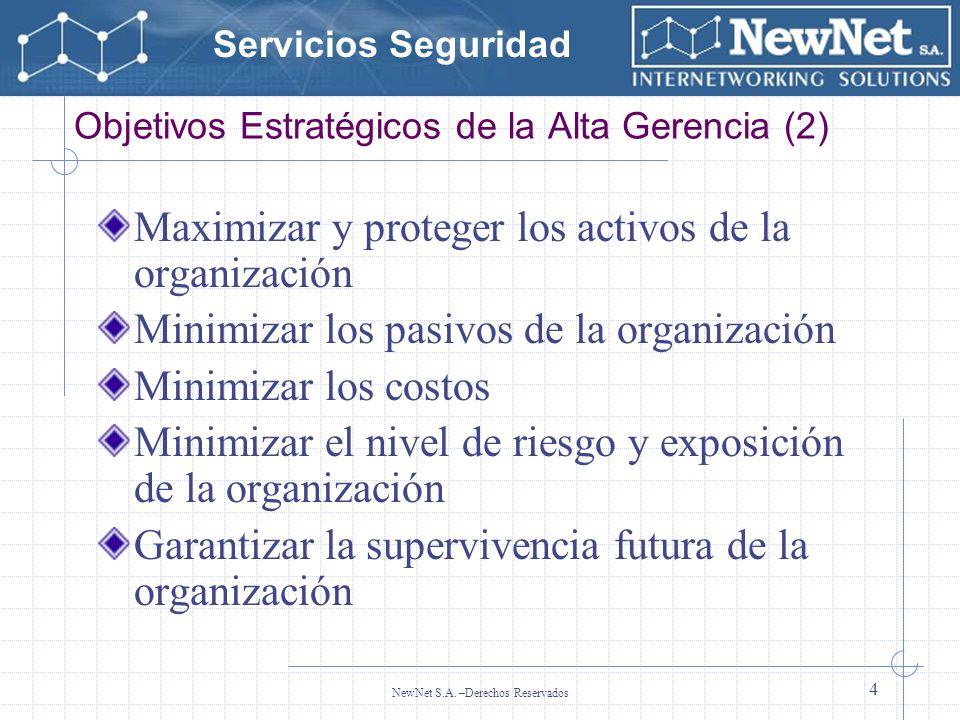 Objetivos Estratégicos de la Alta Gerencia (2)