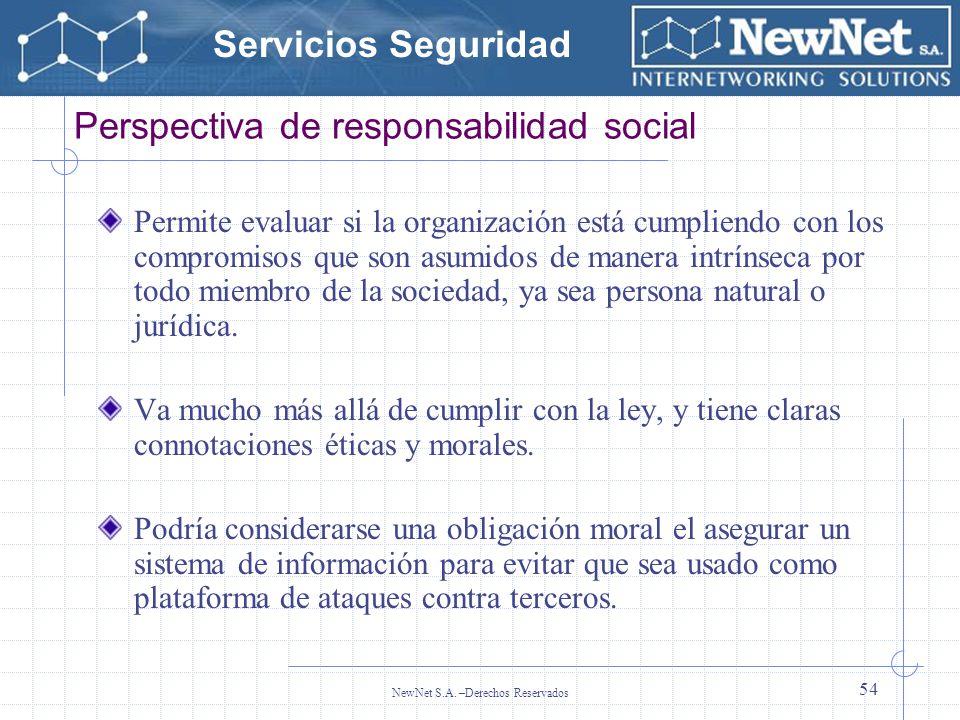 Perspectiva de responsabilidad social