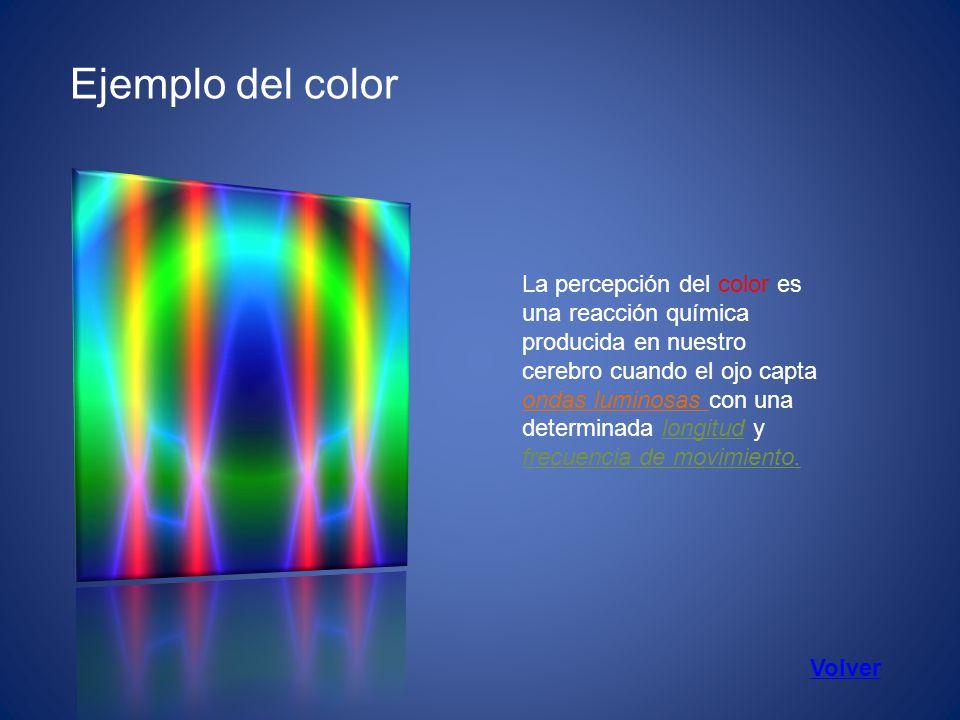 Ejemplo del color
