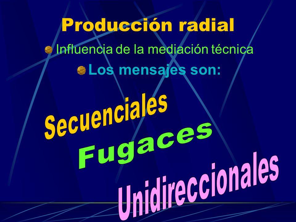 Influencia de la mediación técnica