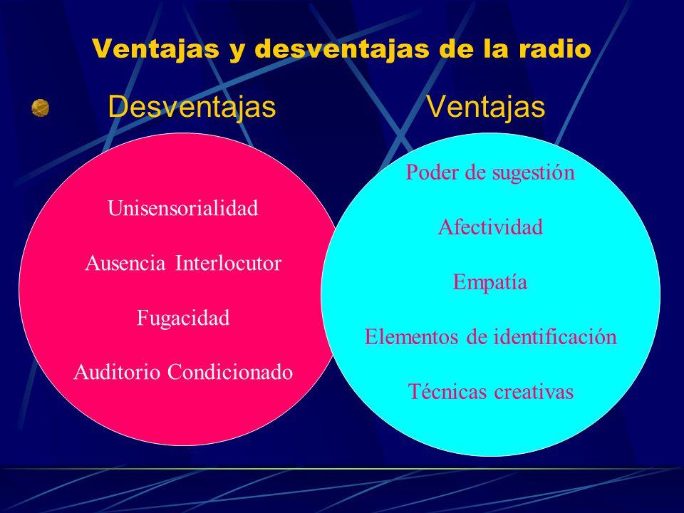 Ventajas y desventajas de la radio