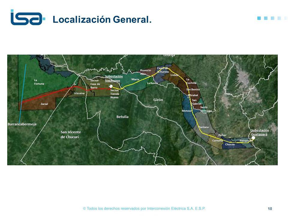 Localización General. tonta