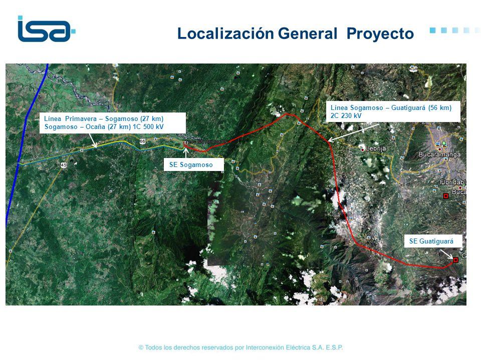 Localización General Proyecto
