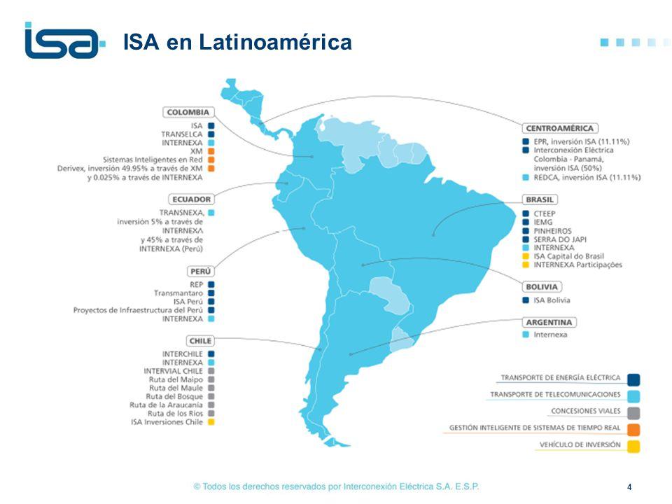 ISA en Latinoamérica