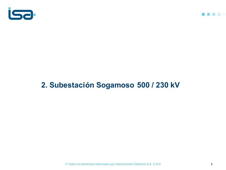 2. Subestación Sogamoso 500 / 230 kV