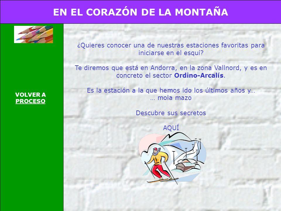 EN EL CORAZÓN DE LA MONTAÑA