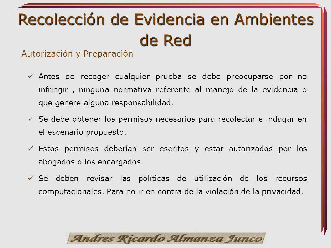 Autorización y Preparación