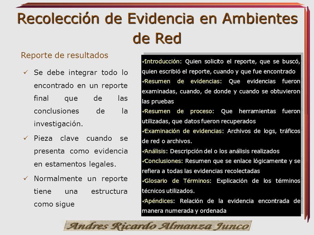 Reporte de resultados Introducción: Quien solicito el reporte, que se buscó, quien escribió el reporte, cuando y que fue encontrado.