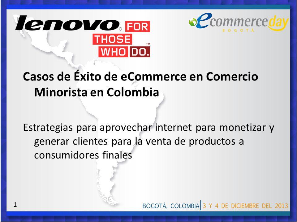 Casos de Éxito de eCommerce en Comercio Minorista en Colombia