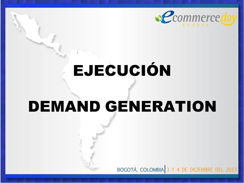 EJECUCIÓN DEMAND GENERATION